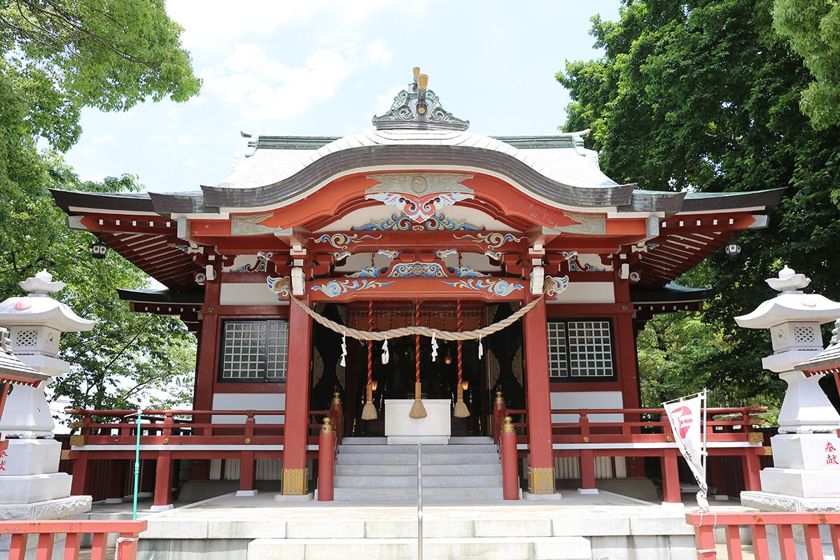 鶴間熊野神社(町田市鶴間580)