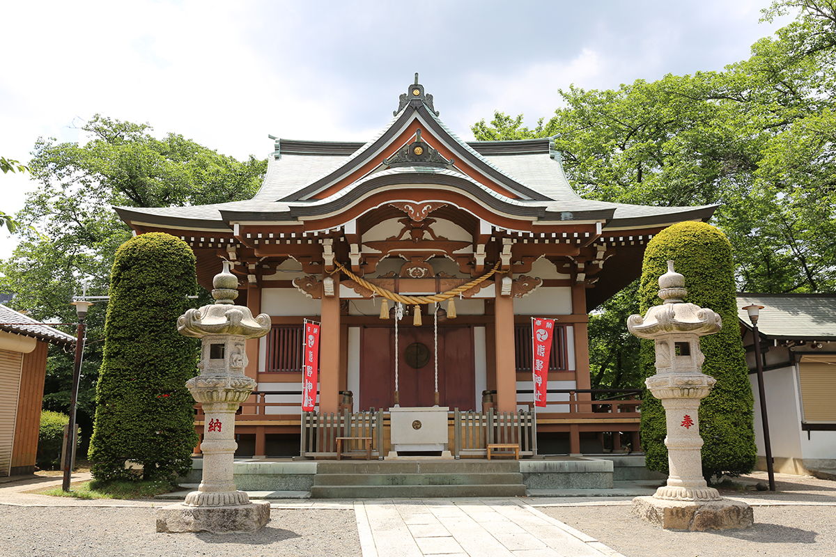 高ヶ坂熊野神社(町田市高ヶ坂2-38-1)
