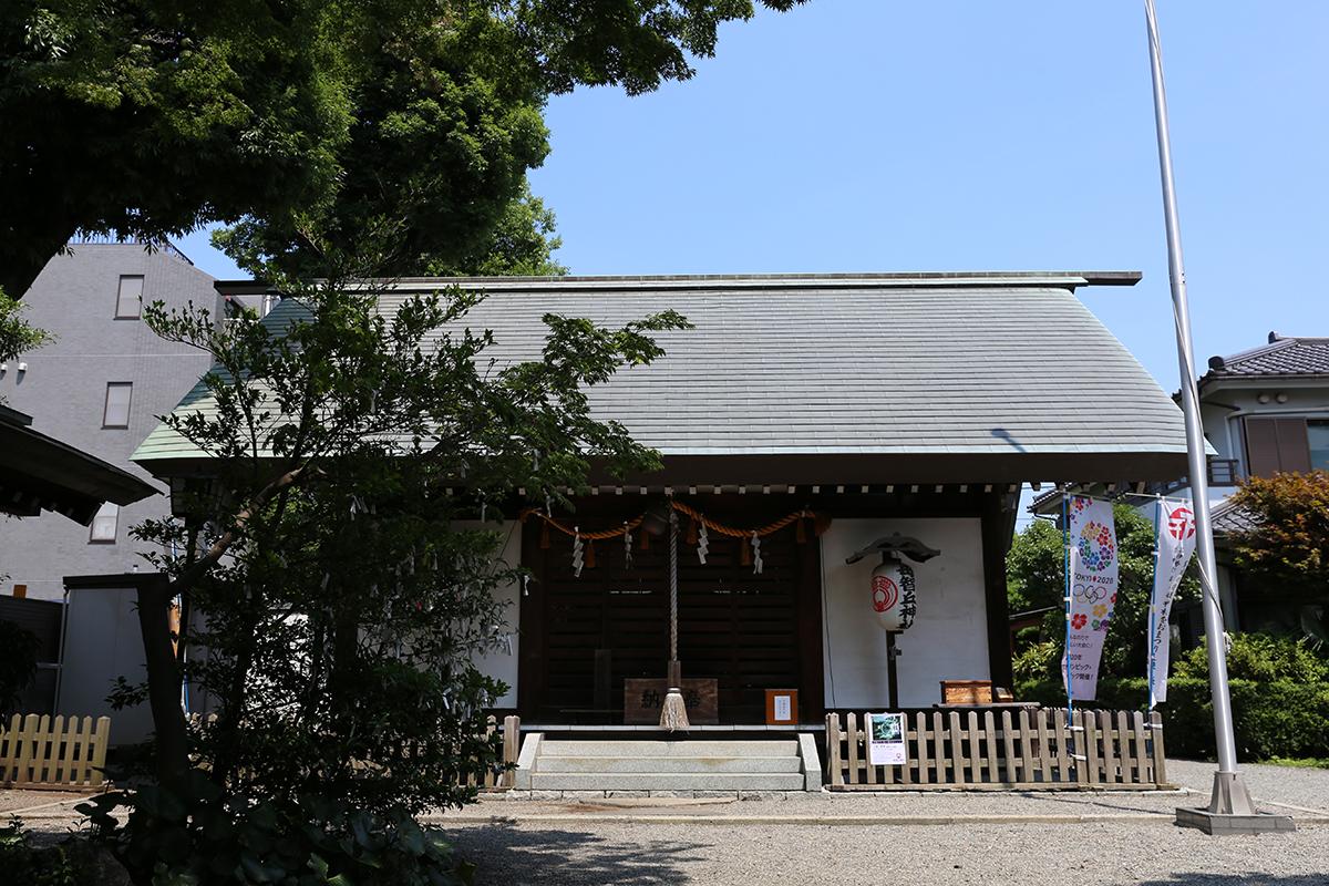 母智丘神社(町田市原町田5-12-11)
