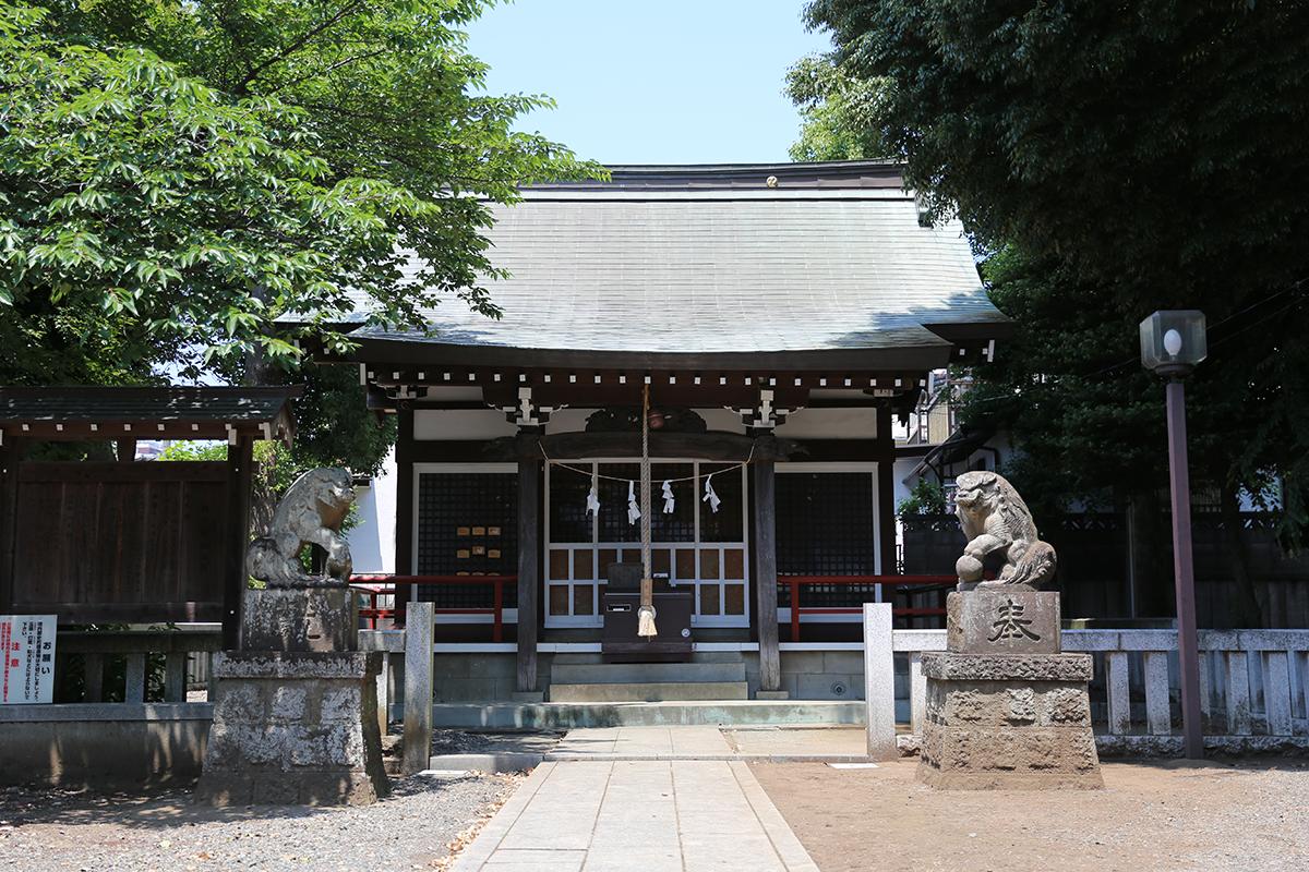 森野住吉神社(町田市森野5-10-2)