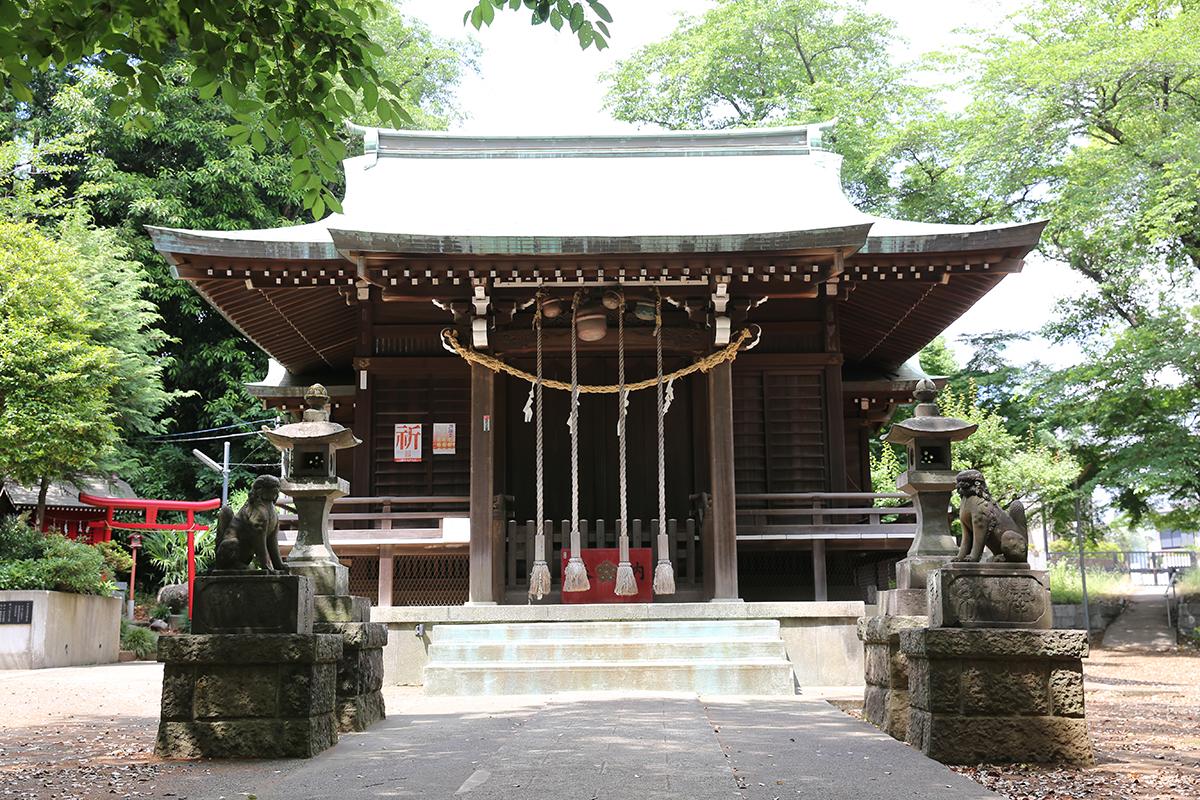 南大谷天神社(町田市南大谷451)