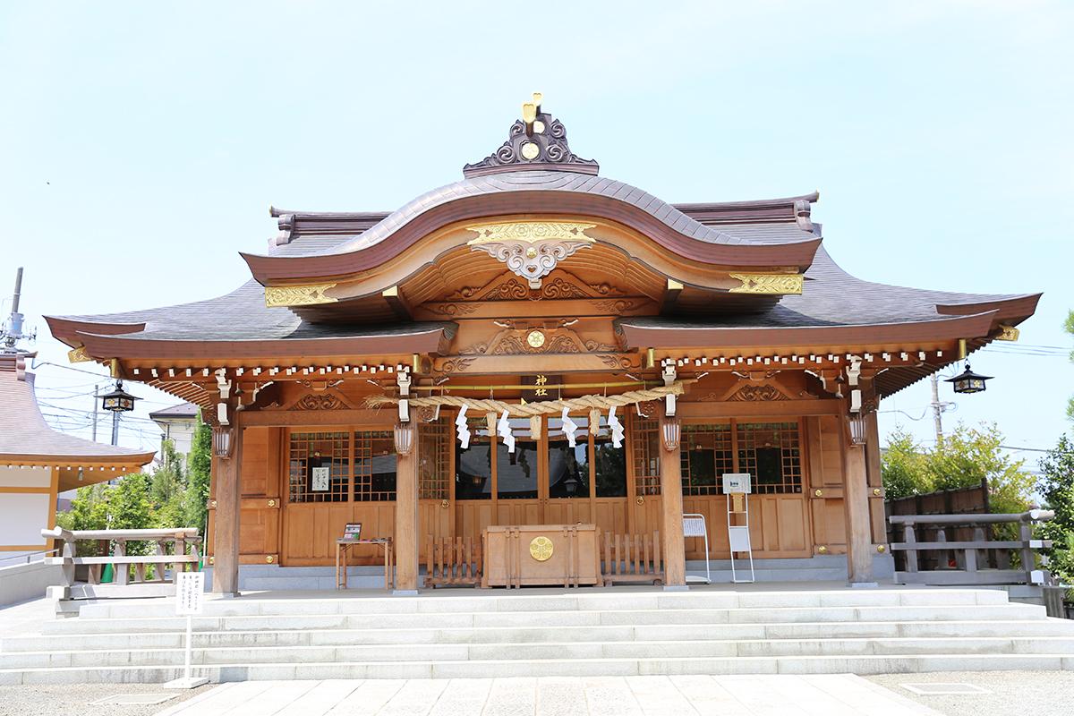 菅原神社(町田市本町田802)