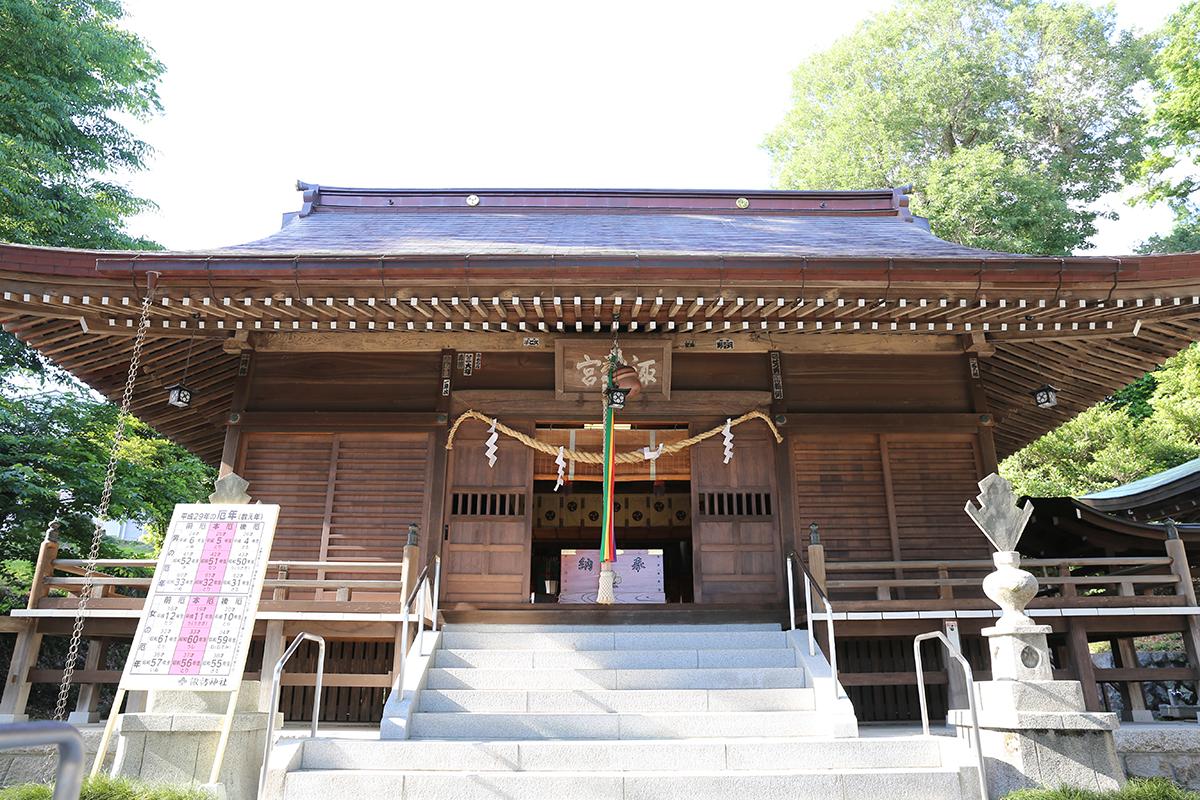 相原諏訪神社(町田市相原町1743)