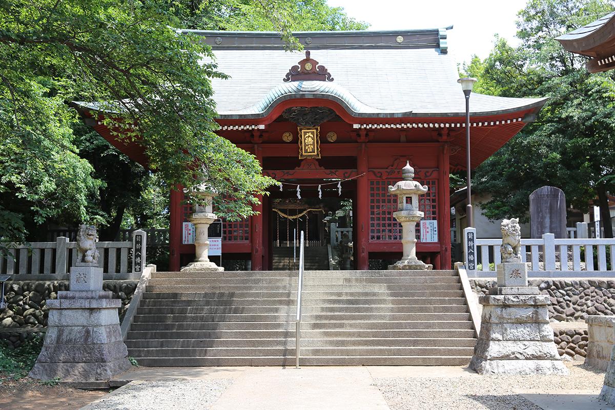 箭幹八幡宮(町田市矢部町345)