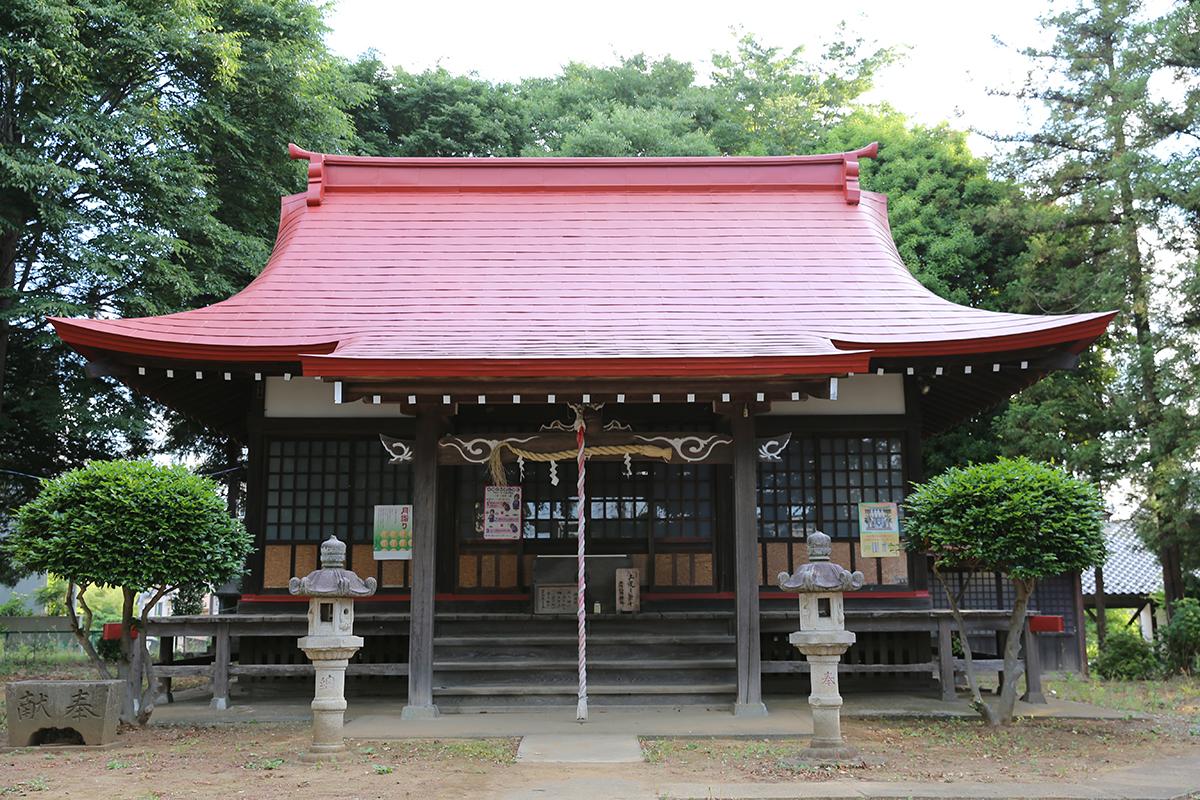 山崎八幡神社(町田市山崎町345)