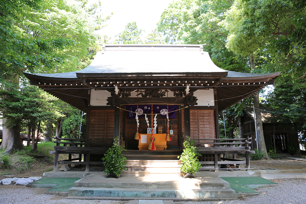 大蔵春日神社(町田市大蔵町2822)